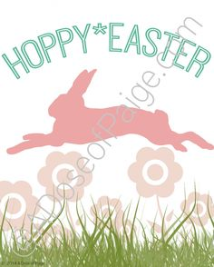 Free Easter Printable: Hoppy Easter - A Dose of Paige