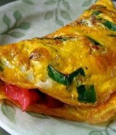 Here, I have presented- a very tasty tomato and onion omelette. There are innumerable variations of making an omelette. Each and every cuisine have their own style to prepare omelette. Basically this dish is being prepared from beaten egg. I have used chopped onion and tomatoes in this omelette but you can also add chopped capsicum.