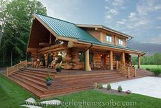 View Pioneer Log Homes' gallery of images of handcrafted western red cedar log homes and log cabins.