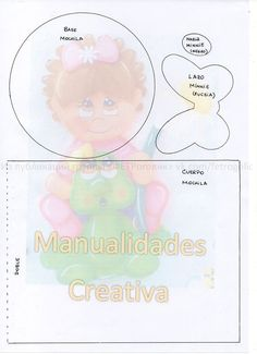 Minnie, Mickey Mouse, Teddy Bear, Animals, Backpack Craft, Creative Crafts, Creativity, Animales, Animaux