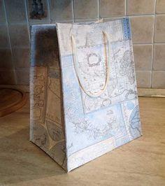 Voglio il mondo a colori: Shopper bag da carta tappezzeria