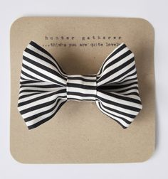 Monochrome Groom Bow Tie