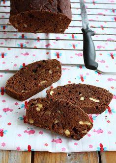 Bananenbrood met chocolade en walnoten | Francesca Kookt
