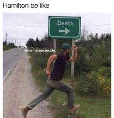 Hamilton be like
