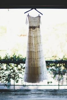 Bohemian Lace / Rhian & Jake's Bohemian Chic Wedding on The LANE / Brooke Adams Photography