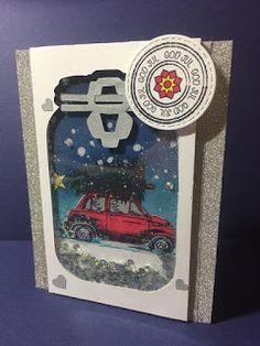 Mitt lille kortmakeri: Heisann og hoppsan  Da har jeg laget et nytt julek...