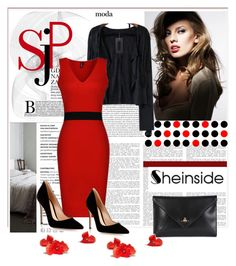 """""""Sheinside 6/I"""" by nermina-okanovic ❤ liked on Polyvore featuring Vivienne Westwood and Gianvito Rossi"""