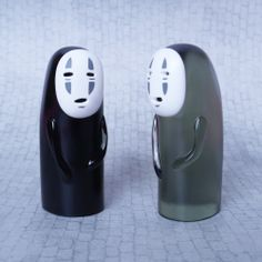 No-Face (Kaonashi) Black and clear set | Flaw Toys