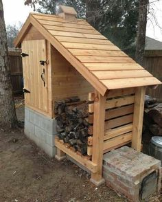 Its not meat but this would definitely be a cool smokehouse to have! Maybe someday.