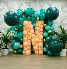 #3dballoon letter or #initials a #newconceptart for branding, party and #photowall..... Because we always want something different #ovationeventsnrentals 9987874663 #surprisesurprise #balloons #ģiantletters #differentideas #pretttyperfect #ovationenr #balloonwedding #partytimes
