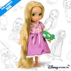 Disney Princess Dolls, Princess Girl, Disney Dolls, Cheap Toys For Girls, Rapunzel, Disney Prices, Disney Store, Disney Animator Doll, Barbie Accessories