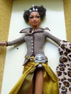 Byron Lars for Barbie #dolls #black