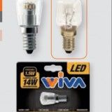 WIVA1210360 LED PICCOLA PERA 1.5 WATT = 14 WATT INCANDESCENZA