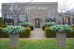 glass drops, Deborah Silver, Detroit Garden Works, Branch Studio