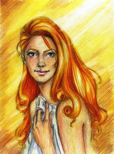 Ginny... I love this drawing of her