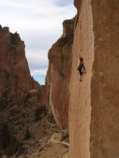 Smith Rock. I spent so much time here when I was a kid! Rock Climbing was our life. Would love to visit just for the memories. The smell of Juniper and dust:)