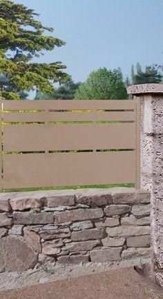 Portail, portillon, clôture acier - Cassiopee - ROY