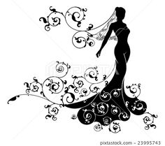 couple silhouette flower - Google Search