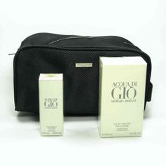 Estuche promocional del #perfume para hombre Acqua Di Gio de #GiorgioArmani