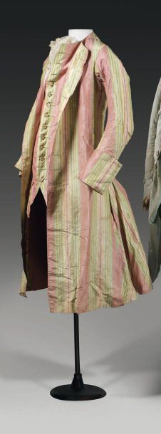 Jacket, ca. 1760, the Louis XV style
