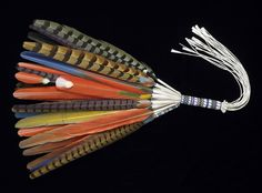Feather Fan, Artist Unknown (United States) Artist: Artist Unknown (United States) Date: 20th-21st century