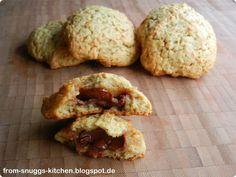 applejuice caramel cookies / apfelsaft karamell plätzchen