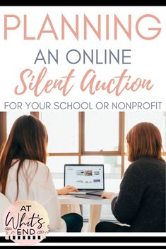 When it comes to elementary school fundraising ideas, the best you CAN do is an online silent auction. This post will give you ideas for how to run, set up, and display your own silent auction. FREE forms to collect donations, ideas for gift baskets, and other auction items and printables, plus tips and tricks from a school that has run a very successful auction for over 10 years in a row. These ideas will also work if you are a nonprofit or church looking to host your own silent auction.
