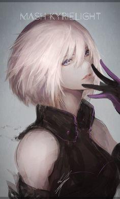 """marumoru on Twitter: """"マシュ・キリエライト/FGO 暫定表紙予定のイラストですー。… """""""