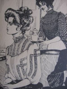 vintage 1880's Gibson Girl Blouse Pattern - Patterns from Times Past - Folkwear 205 - Multi-Size 6-16