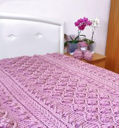 """Want to knit the same plaid? All the schemes in the project """"Knit from Alize Puffy"""" Discount for 60 patterns. Plush Blankets, Soft Blankets, Knitted Blankets, Knitted Hats, Crochet Cable, Crochet Hooks, Baby Patterns, Knit Patterns, Finger Knitting Projects"""