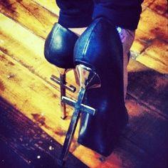 Cross Heels