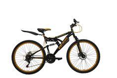 Boss Men's Mountain Bike - (Black/Gold, 12+ Years, 18 Inch, 26 Inch)