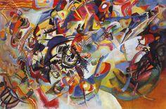 "Wassily Kandinsky - ""Composition VII"", 1913"
