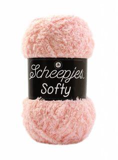 Scheepjes Softy ist ein feines, superweiches Garn in niedlichen 50 Gram Knäuel, das ein wenig glänzt und sich noch weicher als Scheepjes Sweetheart Soft anfü... Winter Hats, Products, Amigurumi, Light Rose, Kawaii, Threading, Breien, Gadget