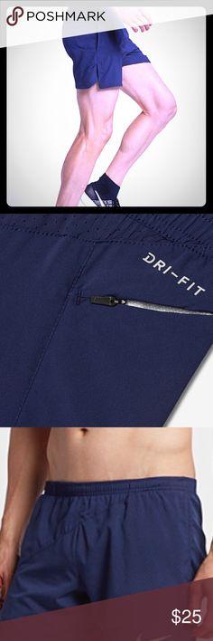 Nike dri fit Navy blue shorts Men's authentic Nike dri fit Nike Shorts Athletic