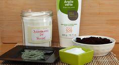 Facile à réaliser, ce soin 100% naturel au bicarbonate de soude, marc de café et argile verte, permet de drainer les zones où la cellulite s'est installée.