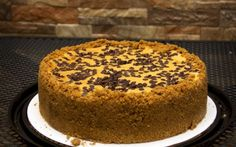 Bailey's Chocolate Chip Cheesecake