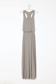 ++ racerback blousy maxi dress
