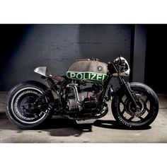 "BMW R80 RT Polizia UNO ""P1"" Built by ""VTR CUSTOMS"""