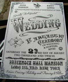 Incredible Vintage Circus Wedding invites