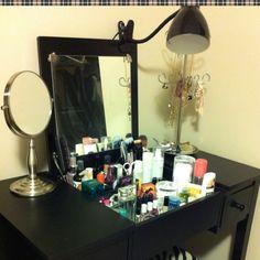 My mini Vanity Desk..