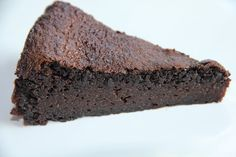 Grain Free Mocha Fudge Cake and converting flours  - Maria Mind Body Health