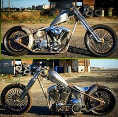 Hard tail bobber. Too cool 4 school