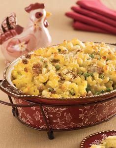 temp-tations® by Tara: Mac 'n Cheese with Sausage & Peas, Please