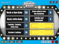 Baby BOY Shower Feud Family Feud Trivia Powerpoint Game   Etsy Baby Shower Questions, How To Make Edits, Kerry Underwood, Powerpoint Games, Rock A Bye Baby, Family Feud, Color Street, Little Star, Hush Hush
