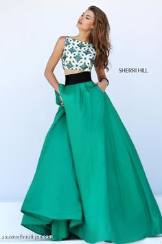 We do carry several Sherri Hill dresses instock in our Orlando boutique.  Please…