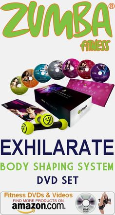 The Zumba Exhilarate Body Shaping System DVD Set more popularly called the Zumba for beginners workout DVD is great for newbies. It allows you to get the feel for Zumba beginner moves, and it's a workout for someone just beginning, like the Jewish lady who stepped into her first Zumba class at her local gym because she weighed almost 300 pounds and knew she needed to make a change. #homeworkoutroutines #workoutroutinesforwomen #fitnessdvds #workoutdvds #exercisedvds…
