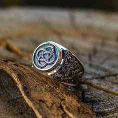 Ring with Ouroboros. Was made in a single copy for one of our client ;) #customring #vikingjewelry #handmade #etsyhandmade #vikings #ouroboros #paganjewelry  Don't forget to take part in our awesome GIVEAWAY! You can find all info a few posts earlier
