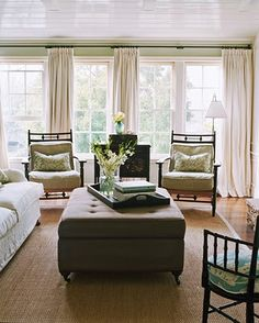 curtains...living room windows