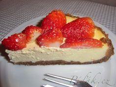 Píďák.cz - Recept - Cheesecake s jahodami